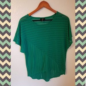 3 for $15 💚Green high low blouse. 💚